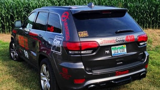 Video  Rally North America US50 in a Jeep SRT  Part 2  Missouri to Colorado