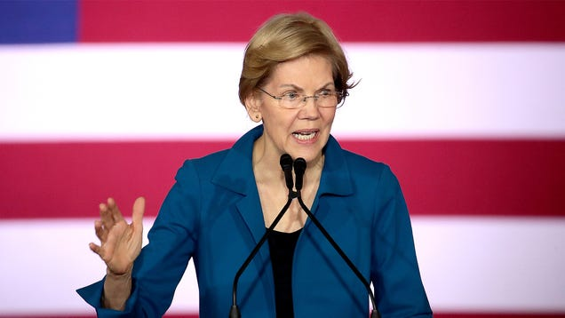 Warren Tells Supporters To Cut That Pinterest Shit Out, This Is Serious
