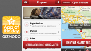 Illustration for article titled American Red Cross Hurricane App: Stay Safe in Sandy's Aftermath