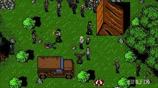 The Walking Dead As A SNES Run And Gun Game