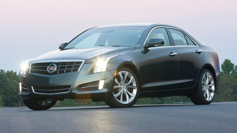 Illustration for article titled Cadillac ATS-V Could Get A 425-HP Twin Turbo V6, Seven-Speed Manual