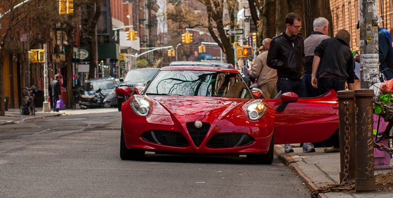 Illustration for article titled What It's Like To Drive Across Manhattan In An Alfa 4C