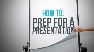 Illustration for article titled How to Prep for a Presentation