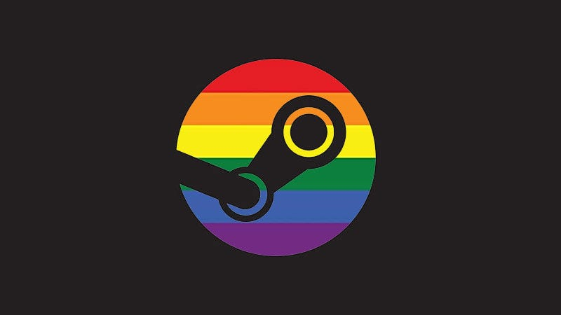 Illustration for article titled Steam Finally Adds Official LGBTQ+ Tag For Games