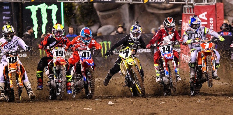 Illustration for article titled Supercross Is Back And More Intense Than Ever: Here's What's Going On And Who You Should Root For