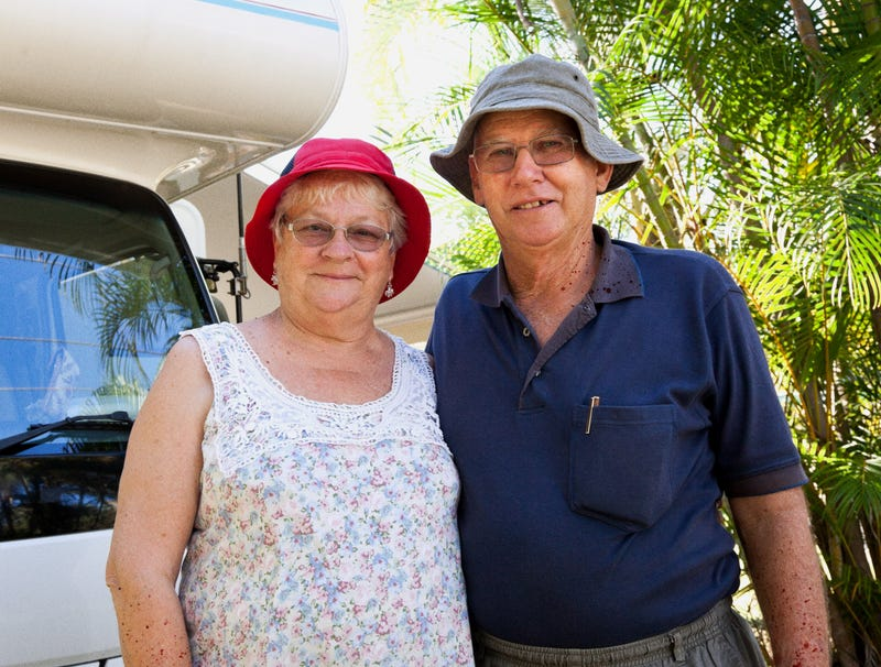 Illustration for article titled Retired Couple Realizes Dream Of Buying Camper, Driving Around Country Murdering Hitchhikers