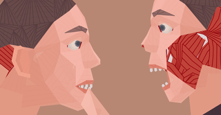 Illustration for article titled A Game About Biting Faces