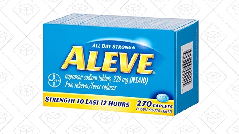 Aleve, 270 Caplets | $6  | Amazon