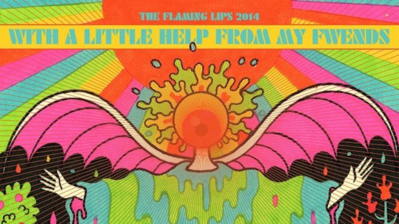 Illustration for article titled The Flaming Lips enlist Miley Cyrus, Maynard James Keenan for Beatles covers album