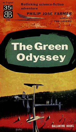 Illustration for article titled Box Of Paperbacks: The Green Odyssey.