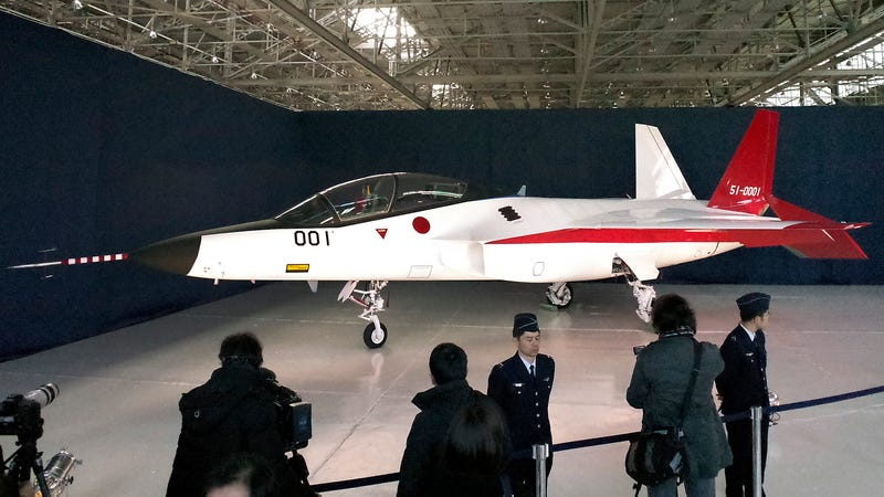 Illustration for article titled Now Japan Has a Stealth Fighter Too