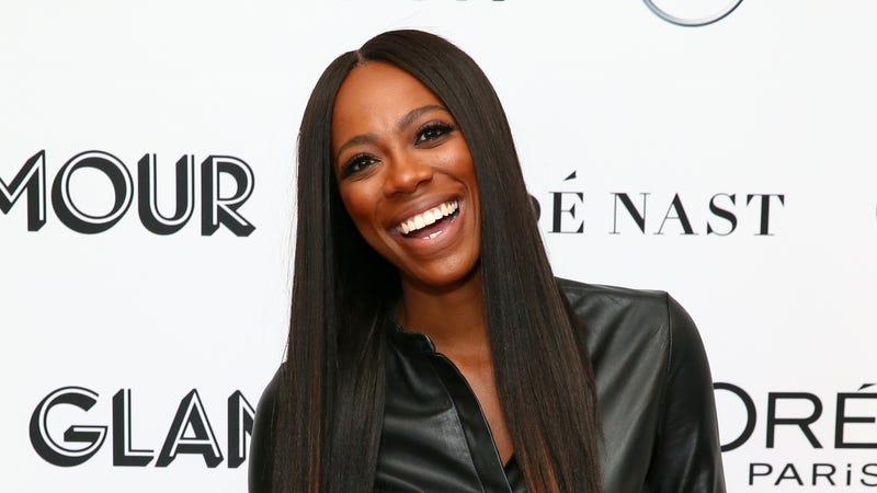 Yvonne Orji attends 2018 Glamour Women Of The Year Summit: Women Rise on November 11, 2018 in New York City.
