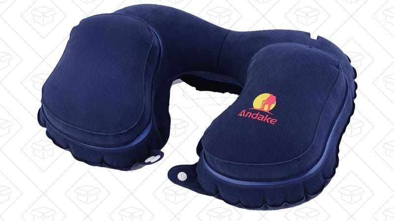 Andake Travel Pillow, $6 with code OKJTP599