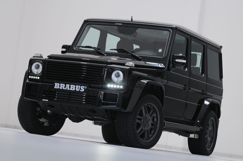Illustration for article titled BRABUS G V12 S Biturbo: World's Most Powerful Consumer Off-Road Vehicle