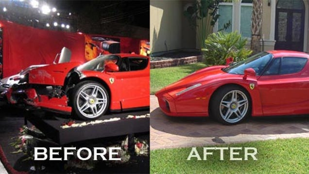 Exclusive: Texas Man Rebuilds $1.5 Million Ferrari Enzo ...