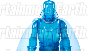 Illustration for article titled This Hologram Darth Vader Toy Is Actually To Scale With The Movies