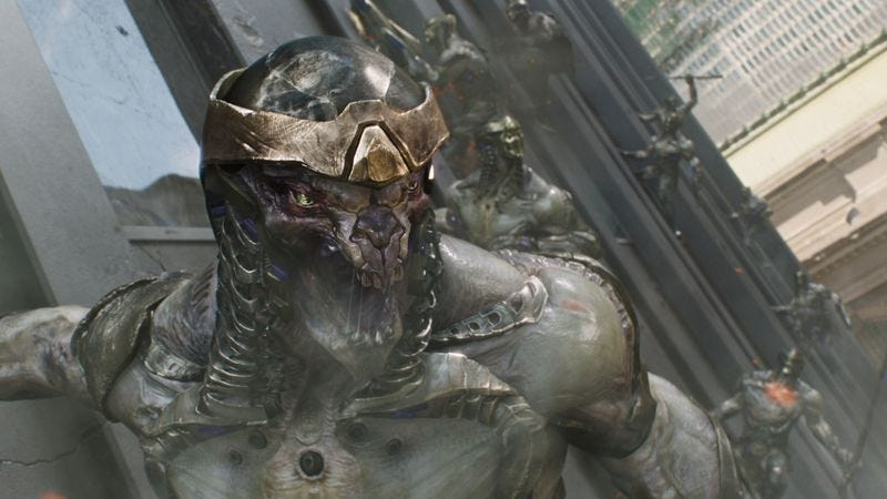 The Chitauri in The Avengers