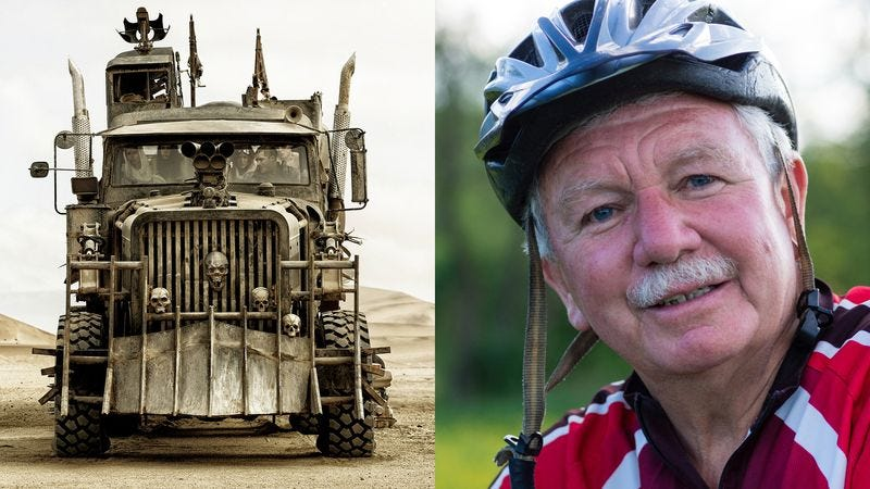 Illustration for article titled Uncanny: This Man Looks Exactly Like The Truck In 'Mad Max'