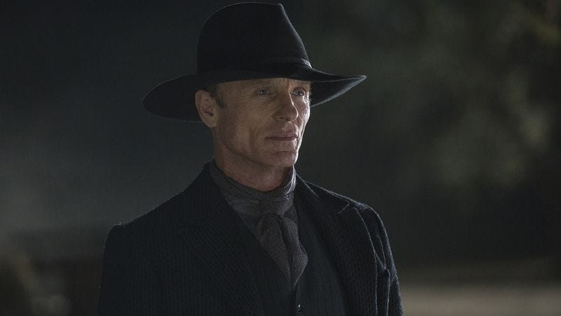 Ed Harris in Westworld (Image: HBO)