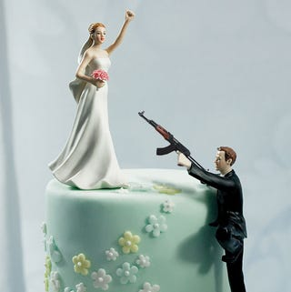 Illustration for article titled Things Not to Do: Bring Assault Rifles to Weddings