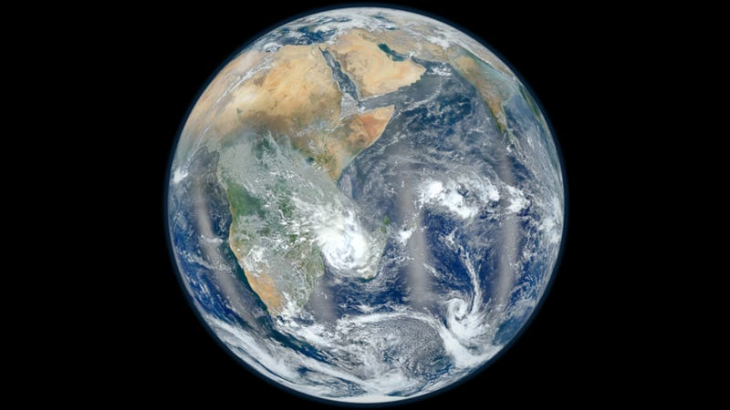 Illustration for article titled NASA releases another impossibly beautiful photo of Earth, detailing the Eastern hemisphere