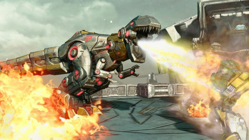 Illustration for article titled There's a PC Version of Transformers: Fall of Cybertron After All