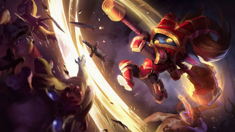 Illustration for article titled Long-Neglected League Of Legends Champion 'Poppy' Is Finally Being Remade