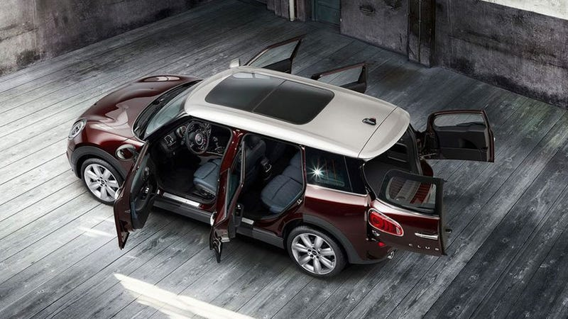 Illustration for article titled 2016 Mini Clubman: This Is It In All Its Six-Door Glory