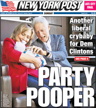 Illustration for article titled New York Post Pulls No Punches, Not Even With Newborn Babies