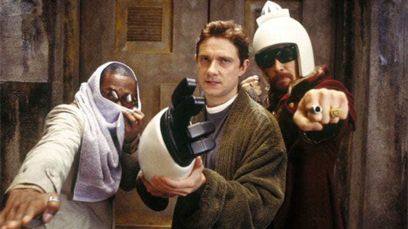The 2005 Hitchhiker's Guide To The Galaxy film.
