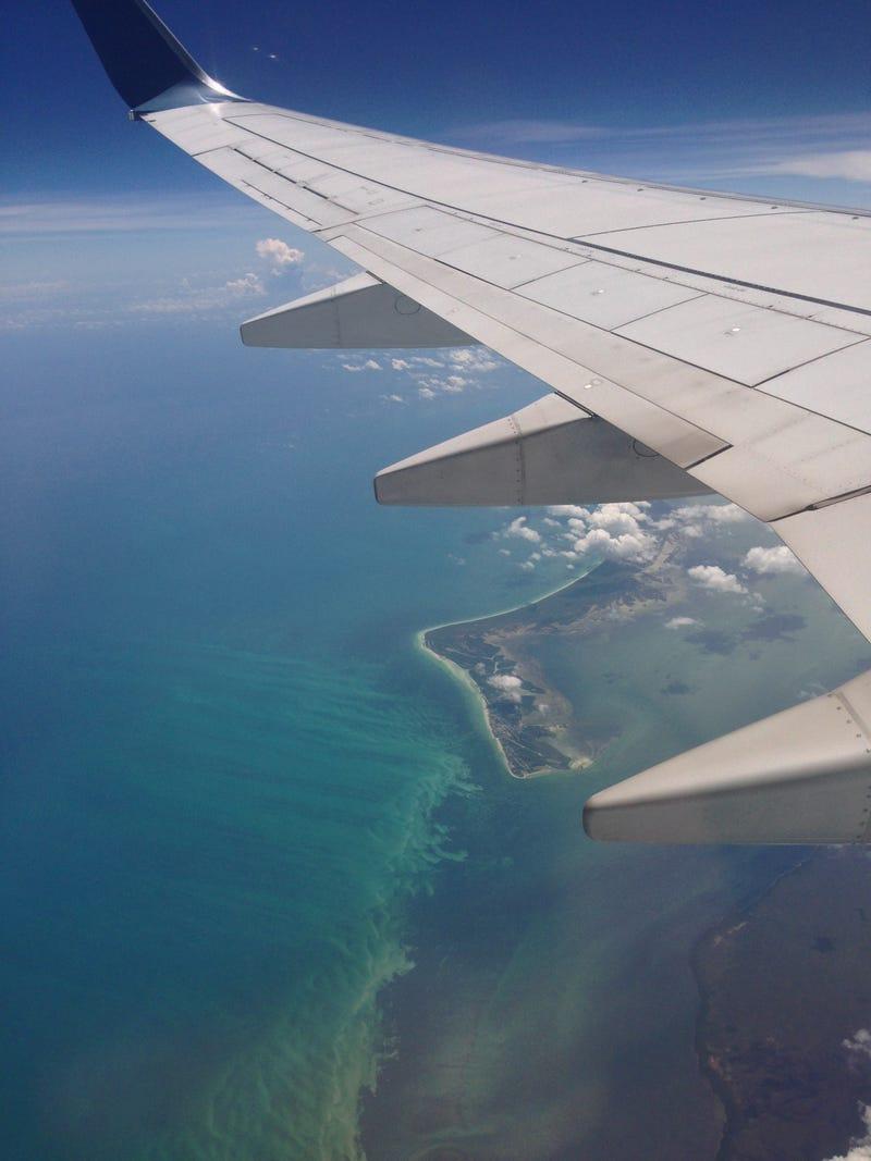 Taken over Cancún and the Yucatán peninsula