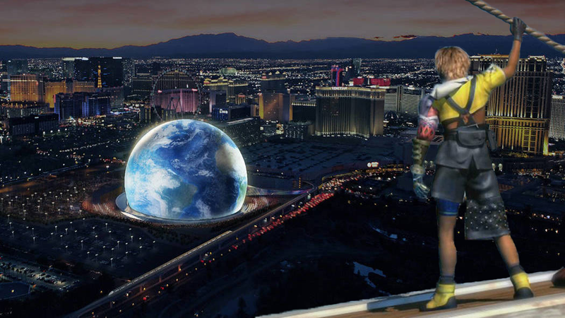 Illustration for article titled Concept For Las Vegas Sphere Sure Does Look Like A Blitzball Arena