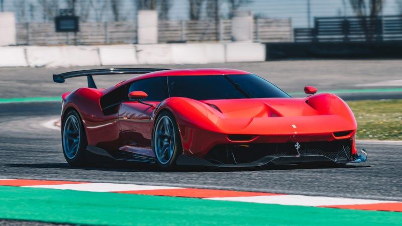 Illustration for article titled Ferrari pasó cuatro años construyendo este increíble auto para una sola persona