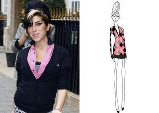 Illustration for article titled Amy Winehouse Now A Fashion Designer