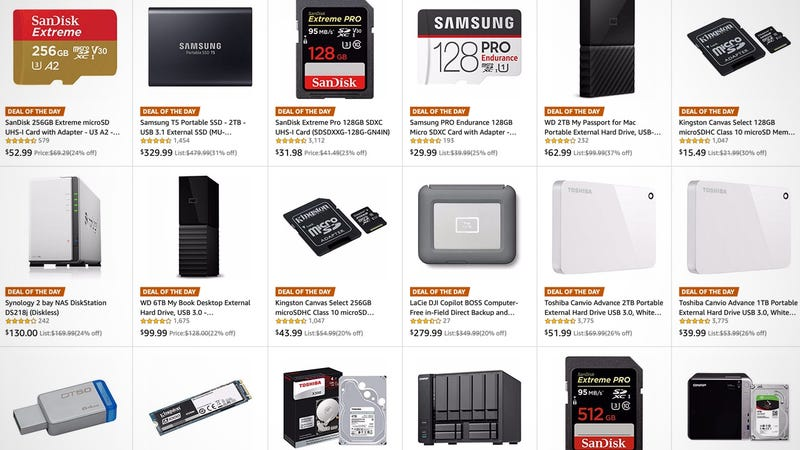 World Backup Day Sale | Amazon