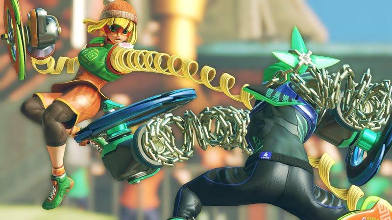 Screenshot: Arms/Nintendo