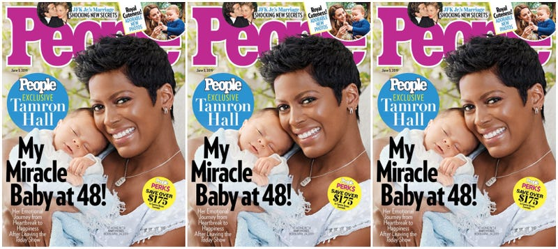 Illustration for article titled 'I Was Terrified I Would Lose This Baby': Tamron Hall Reveals Baby Moses—and Her Pregnancy Fears