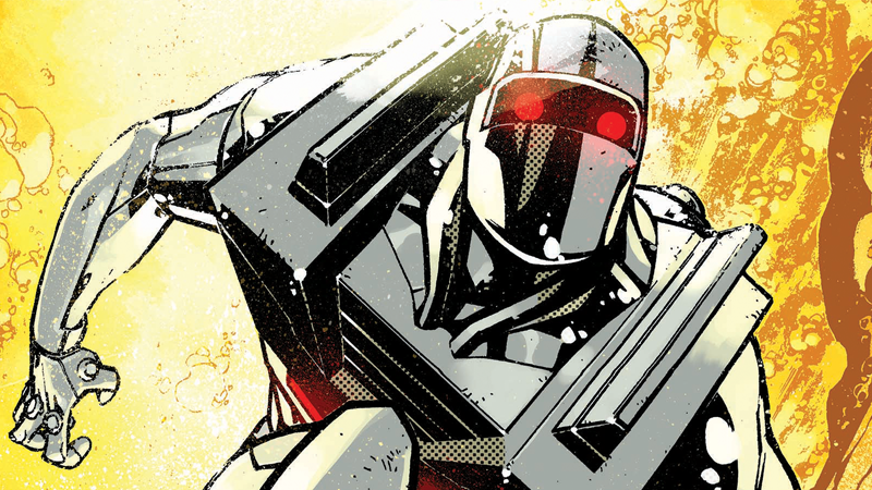 Illustration for article titled The First Details on Rom's Triumphant Return to Comics