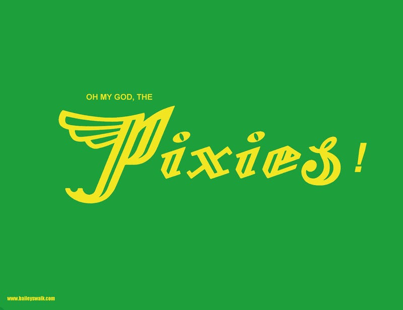 Illustration for article titled NEW PIXIES SONG OMG