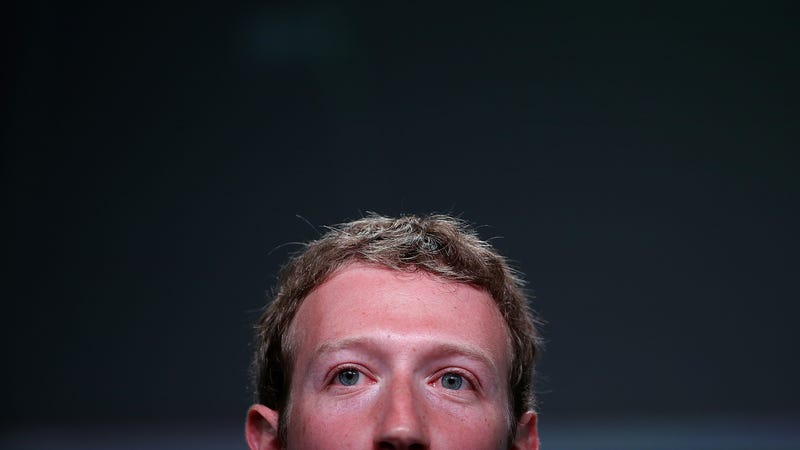 Illustration for article titled Mark Zuckerberg Can't Be Bothered