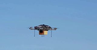 Illustration for article titled Here's the Delivery Drone That Could Be Showing Up at Your Door