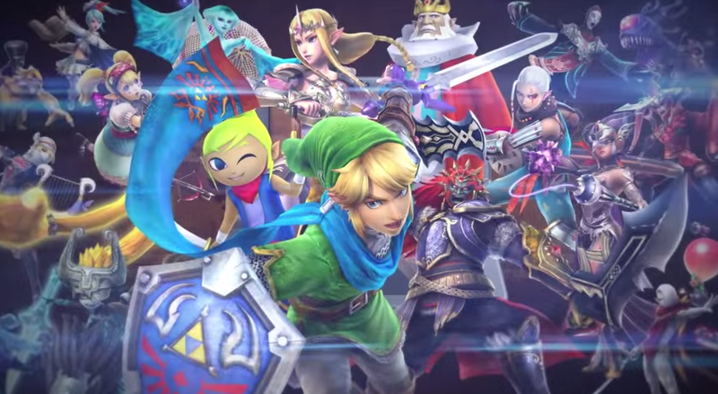 Illustration for article titled Fans Think Upcoming Zelda 3DS Game Has A Playable Female Link
