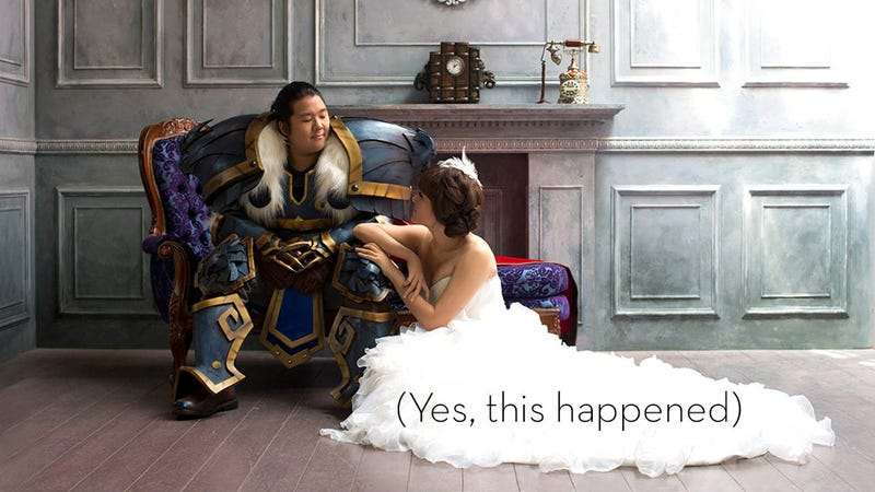 Ain T No Wedding Like An Incredible World Of Warcraft Cosplay Wedding