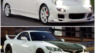 Honda and Mazda t