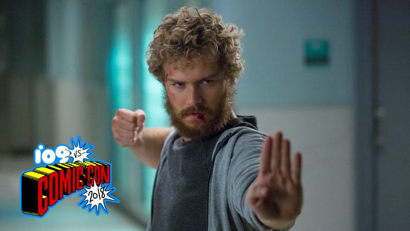 Danny Rand, the Invincible Iron Fist.