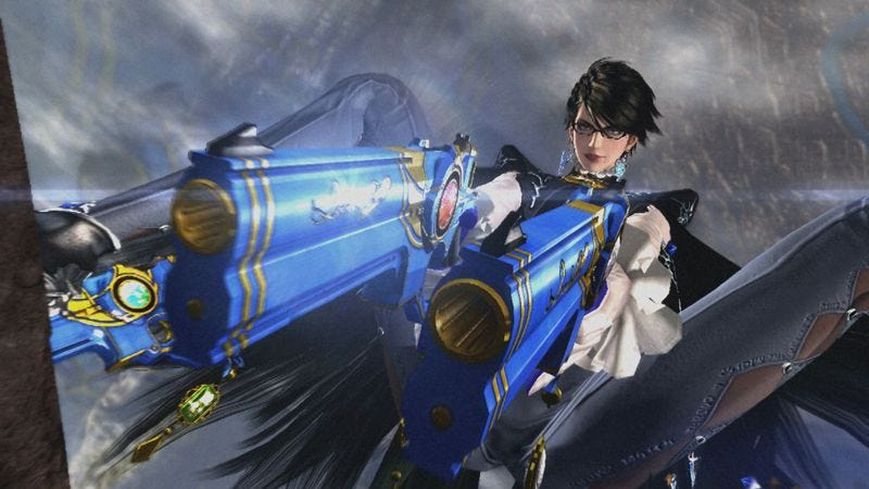 Illustration for article titled Does Bayonetta 2's hypersexuality cross the line, or is it camp?