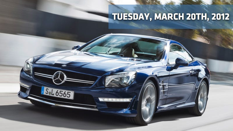 Illustration for article titled Mercedes-Benz SL65 AMG, CEO Gets $2 Million In GM Stock, And Porsche Expands In Nigeria