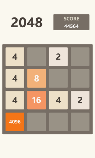 Illustration for article titled Guise, guise! I beat 4096! (2048+?)