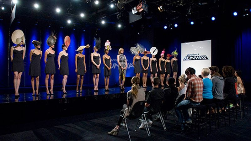 """Illustration for article titled Project Runway: """"Hats Off To You"""""""