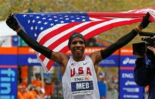 Illustration for article titled American Who Won NYC Marathon Isn't American Enough For Some People